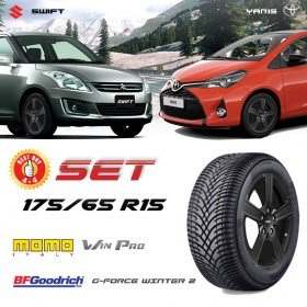 Baleno Swift Yaris 175 65 R15 BFG WIN PRO 280x280