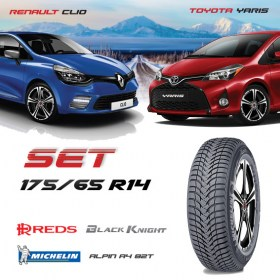 CLIO YARIS 175 65 R14 Michelin7 280x280