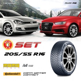 GOLF-A3-OCTAVIA-205-55-R16-CONTINENTAL-M50