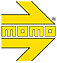 Momo Arrow Logo
