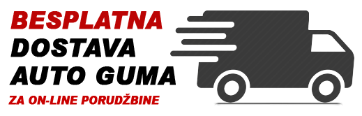 Besplatna dostava auto guma